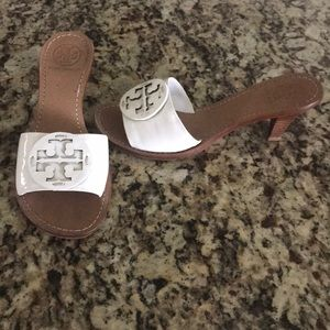 Tory Burch Mule Sandal Heels Size 7